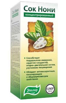применение сока нони в медицине