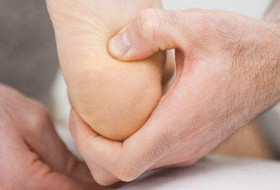 диагностика болей в пятках