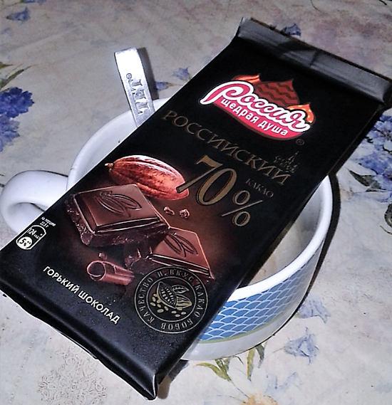 горький шоколад польза