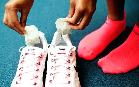 от неприятного запаха в обуви