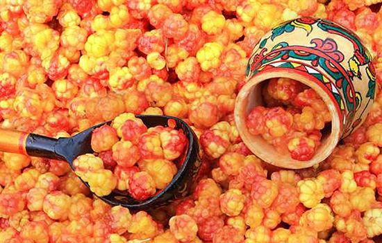 рецепты из ягоды морошки