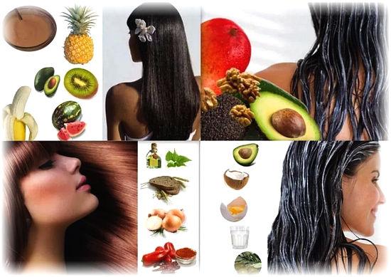 народные средства для густоты волос