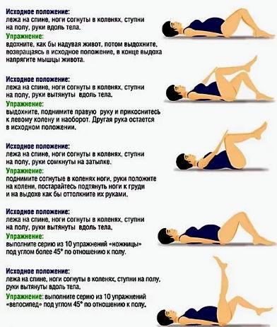 упражнения при геморрое беременных