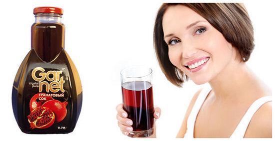 Гранатовый сок - польза и вред, применение и приготовление