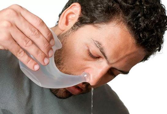 Как заложенность носа в домашних условиях 212