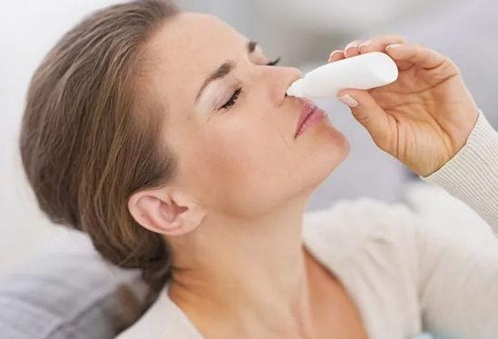 как вылечить заложенность носа каплями