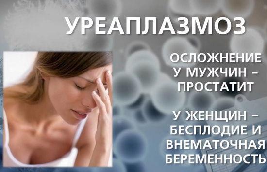 лечение уреаплазмоза и осложнения