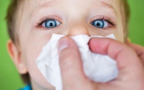 заложенность носа у детей причины и лечение