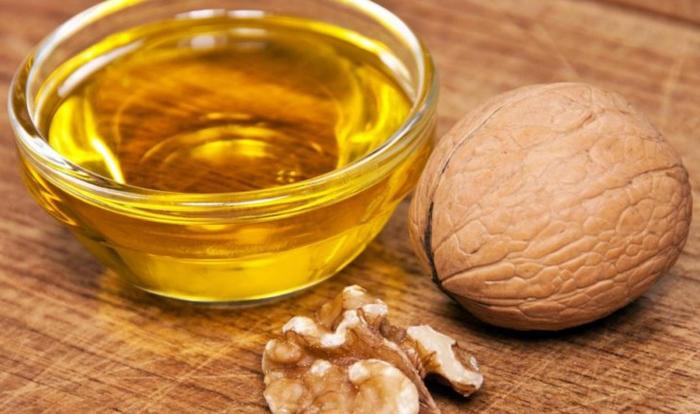 масло грецкого реха в косметологии и медицине