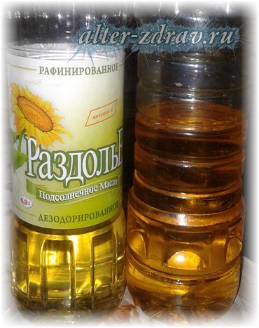 масло подсолнечное польза и вред