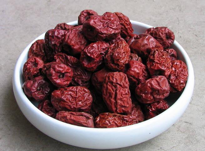 сушеные плоды зизифуса