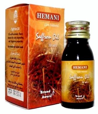 масло шафрана польза