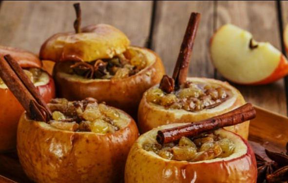 печеные яблоки - рецепт приготовления