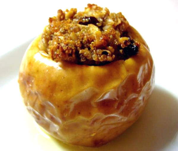 применение печеных яблок в народной медицине