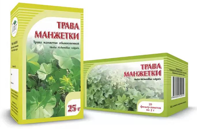 применение травы манжетки в народной медицине