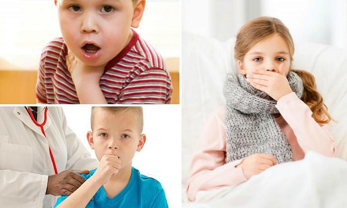 заболевание коклюш у детей