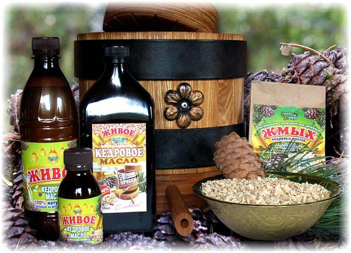 кедровое масло и жмых - польза для организма