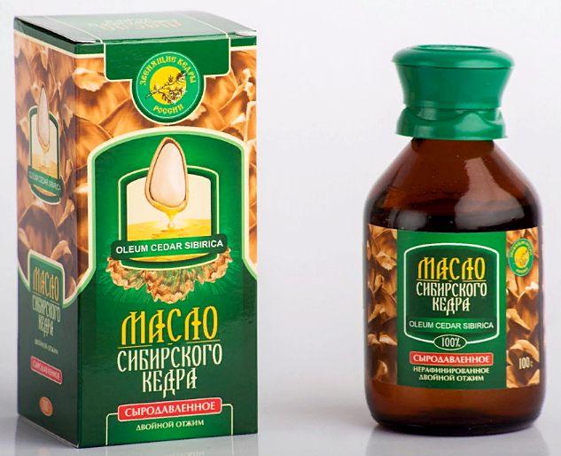 масло кедровое - полезные лечебные свойства