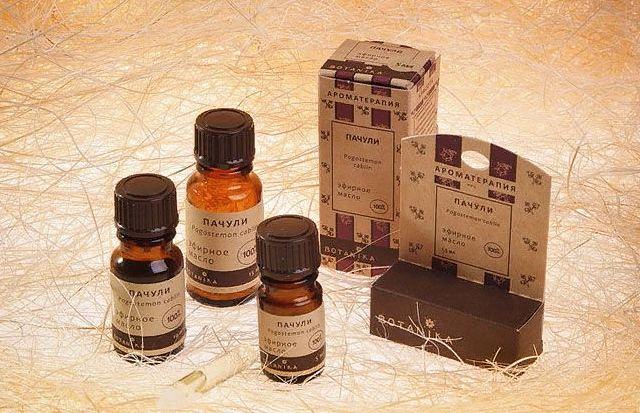 масло пачули - свойства и применение