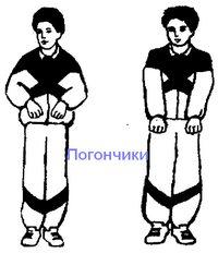 погончики упражнение