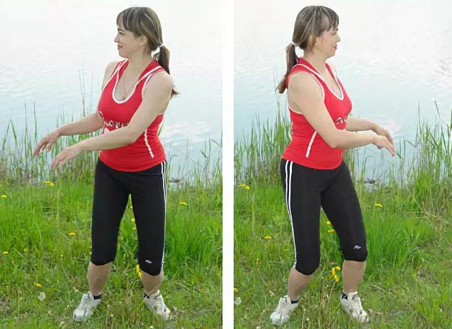 Специальный комплекс упражнений для лечения заболеваний половых органов (урологический комплекс упражнений), Дыхательная гимнастика Стрельниковой, Упражнение