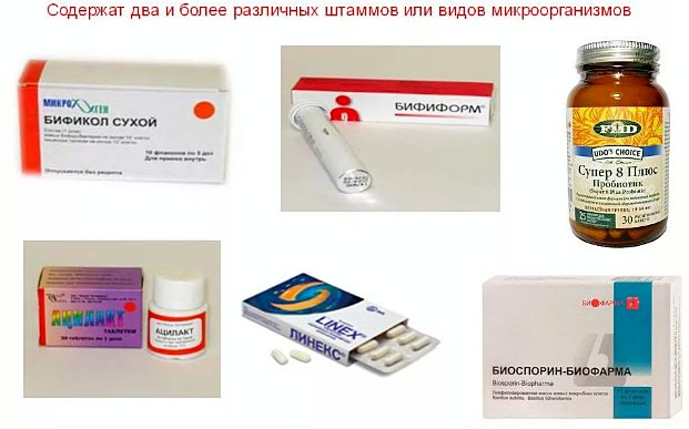 пробиотики с несколькими штамами