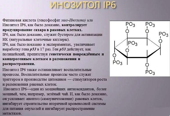 фитиновая кислота ее польза для организма