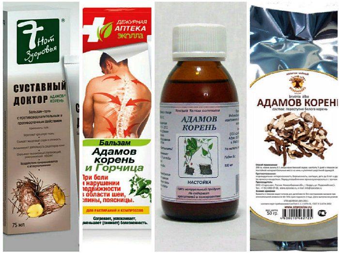 аптечные формы адамового крня