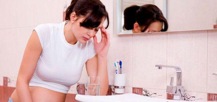 ранний токсикоз у женщин