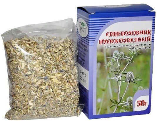 синеголовник плосколистный - лекарственная трава