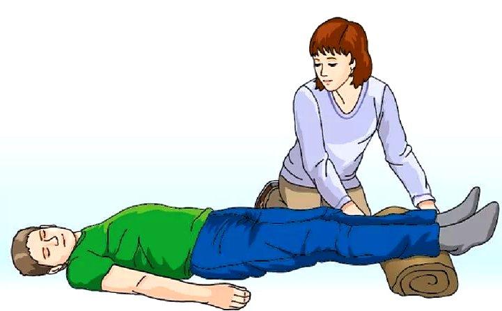 первая доврачебная помощь при коллапсе