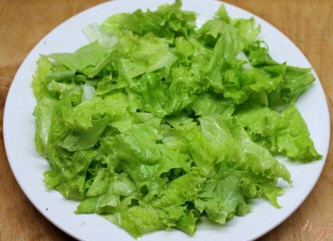 рецепты с латуком (салатом листовым)