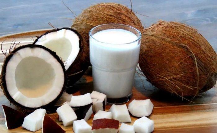 польза и вред кокосового молока для здоровья