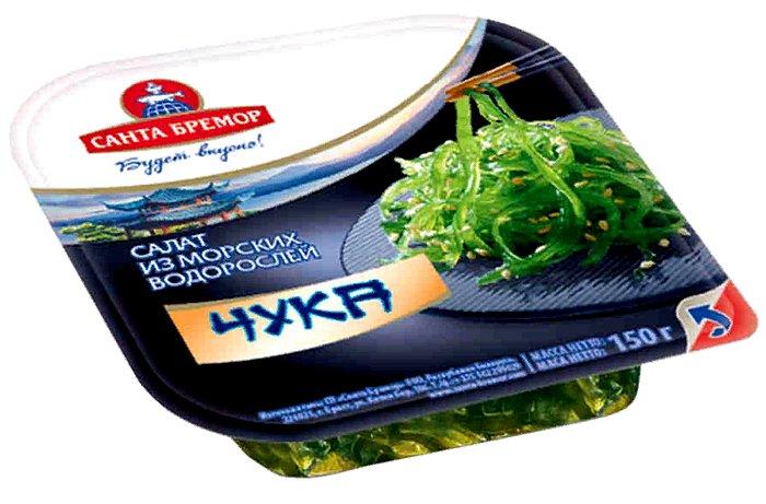 салат из морских водорослей чука - польза для мужчин и женщин