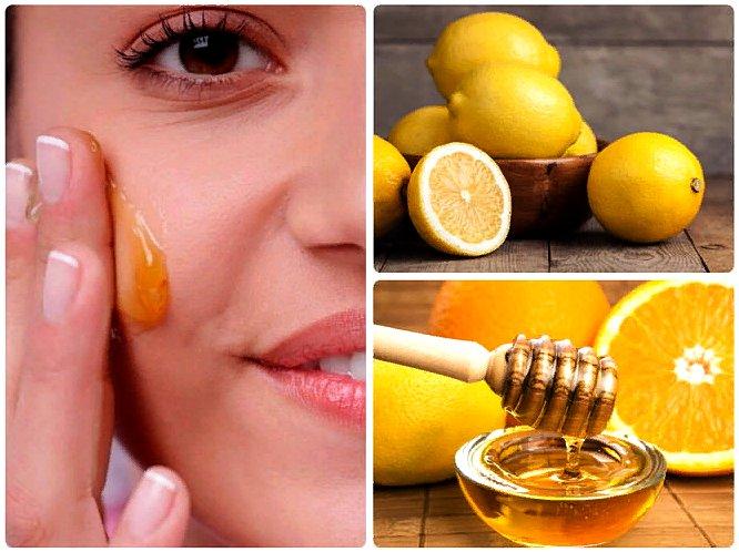 маска с лимоном и медом для лица