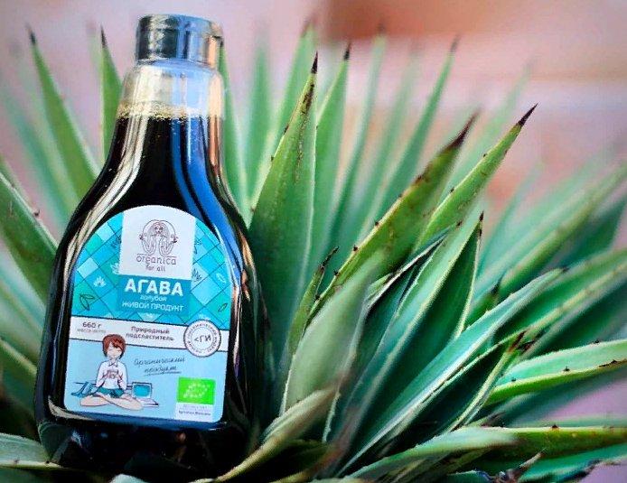 сироп агавы - польза и вред