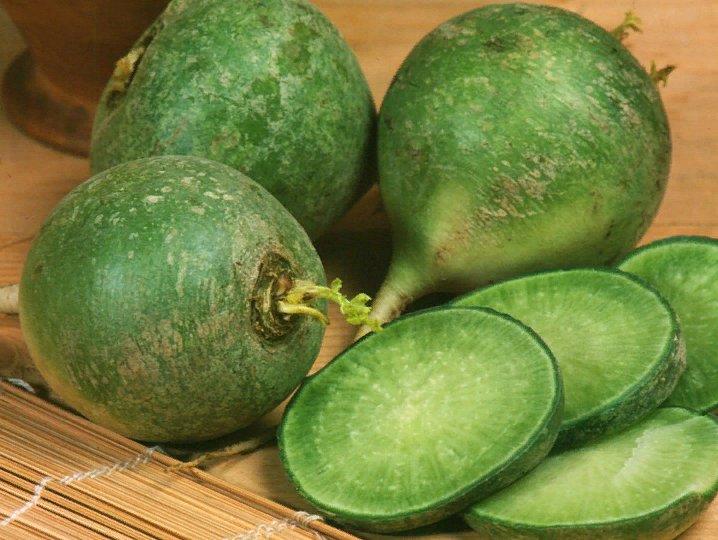 рецепты с зеленой редькой