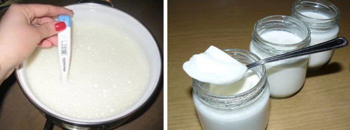 виды йогурта