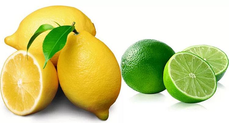 как отличить лайм и лимон