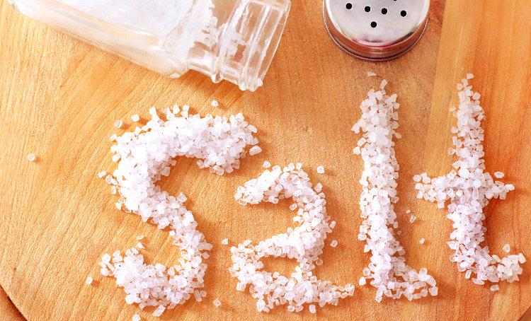 соль - различие поваренной и морской