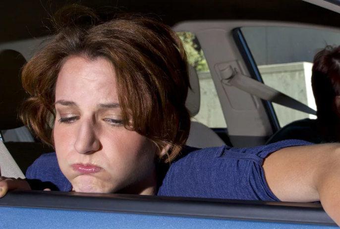 что делать при укачивании в машине