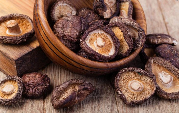 сушеные грибы шиитаке - полезные свойства и противопоказания