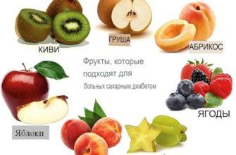 какие фрукты разрешены при сахарном диабете
